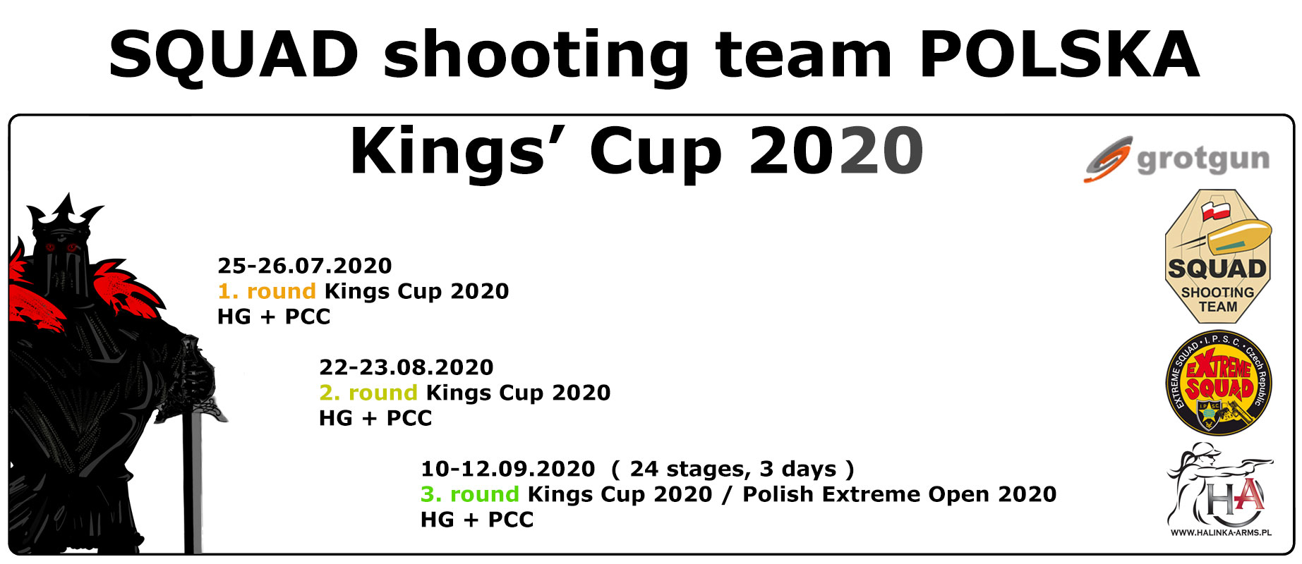 SQUAD shooting team POLSKA