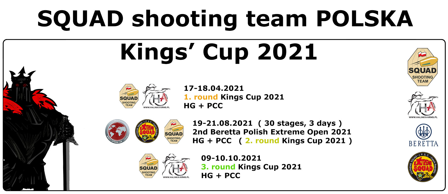 Kingscup 2021 dates